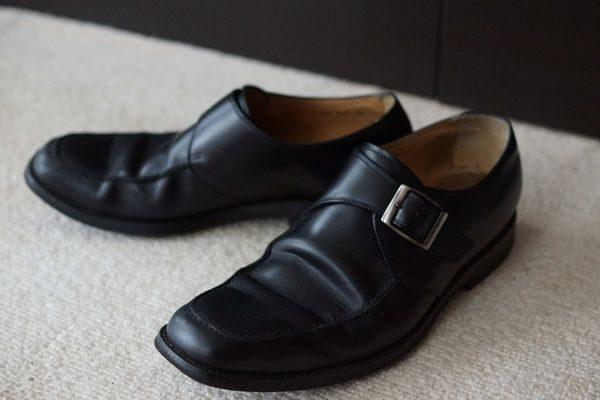 水虫の原因になる靴の写真