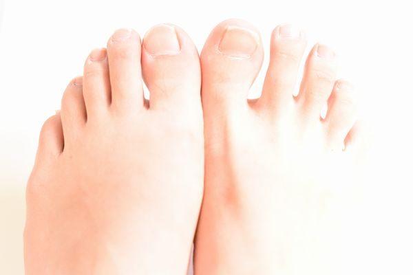 爪水虫が完治した足