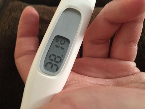 発熱と体温計