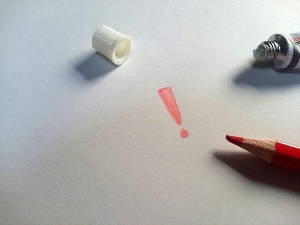 塗り薬の塗り方のポイントイメージ